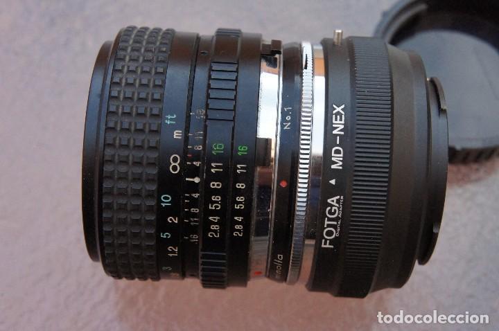 Cámara de fotos: 28 mm F/ 2,8 para Sony Nex (Opcional Minolta MD.) - Foto 2 - 115630868
