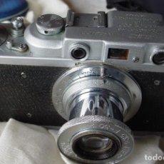 Cámara de fotos: CAMARA SOVIETICA FED 1 B AÑOS TREINTA. Lote 107800615