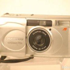 Cámara de fotos: CAMARA OLYMPUS SUPER ZOOM70,G A.F FUNCIONA USADA. Lote 107876955