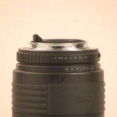Cámara de fotos: OBJETIVO SIGMA PARA PENTAX ZOOM 70- 210 1.14.-5.6 FILTRO 52,M. Lote 107877999