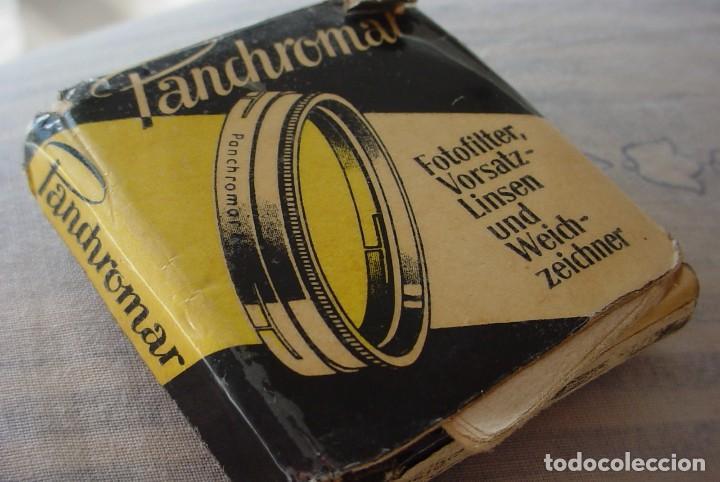 ANTIGUO FILTRO ALEMAN PANCHROMAT OBJETIVOS DIAMETRO 40,5 (Cámaras Fotográficas Antiguas - Objetivos y Complementos )