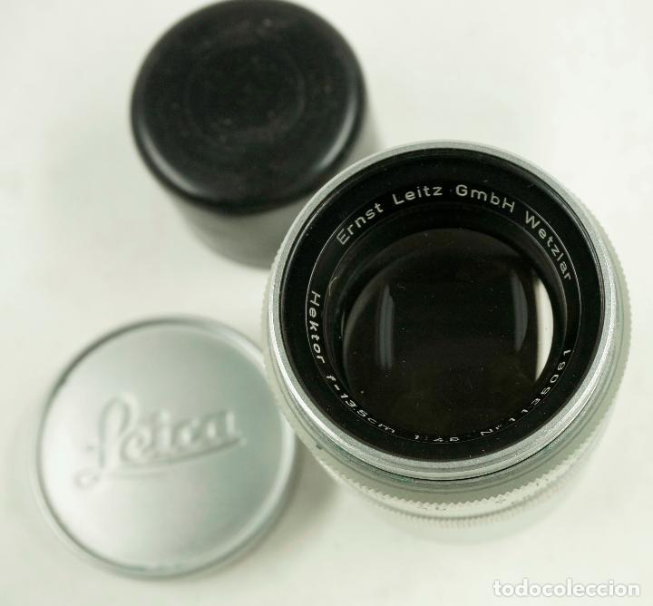 Cámara de fotos: OBJETIVO LEICA, HEKTOR f=13.5 cm. 1:45 - Foto 3 - 108057547