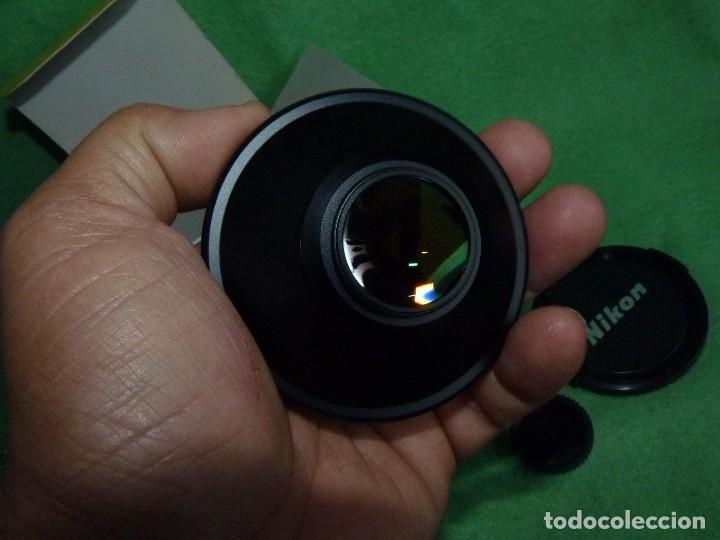 Cámara de fotos: Divertido objetivo Nikon WC-E63 convertidor Wideangle gran angular Made in Japan - Foto 3 - 110516711