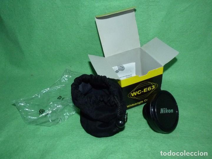 Cámara de fotos: Divertido objetivo Nikon WC-E63 convertidor Wideangle gran angular Made in Japan - Foto 4 - 110516711