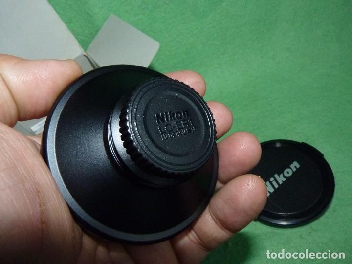 Cámara de fotos: Divertido objetivo Nikon WC-E63 convertidor Wideangle gran angular Made in Japan - Foto 5 - 110516711
