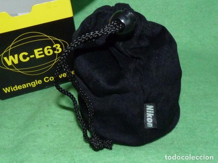 Cámara de fotos: Divertido objetivo Nikon WC-E63 convertidor Wideangle gran angular Made in Japan - Foto 6 - 110516711