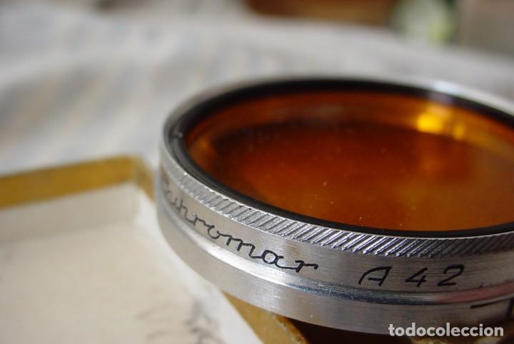 Cámara de fotos: Filtro Panchromat A 42 naranja - Foto 2 - 110653979