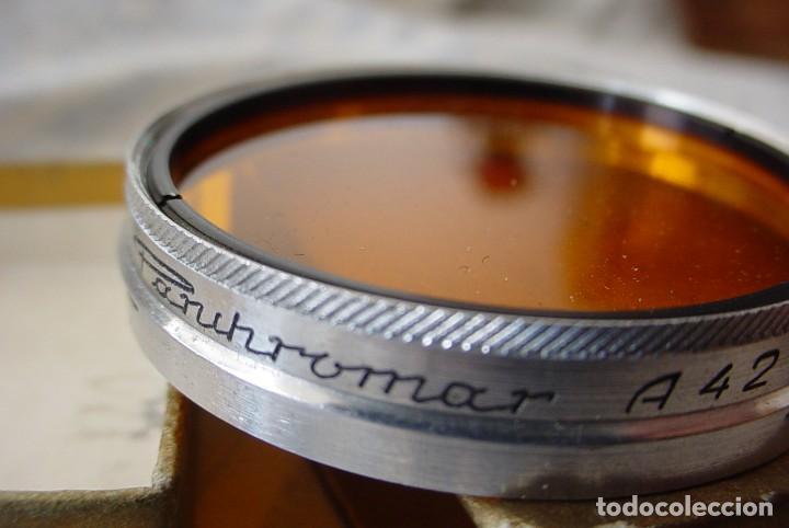 Cámara de fotos: Filtro Panchromat A 42 naranja - Foto 3 - 110653979