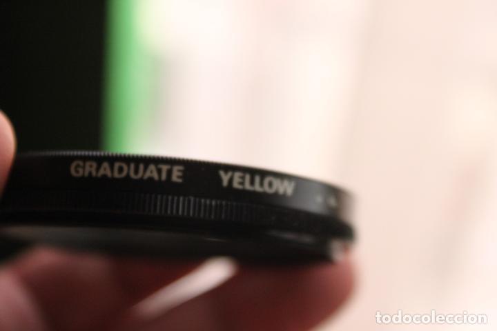 FILTRO GRADUADO YELLOW 58MM (Cámaras Fotográficas Antiguas - Objetivos y Complementos )