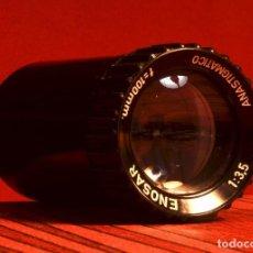 Cámara de fotos: OBJETIVO PARA PROYECTOR ENOSAR 100 ANASTIGMÁTICO 1:3,5. Lote 111169915