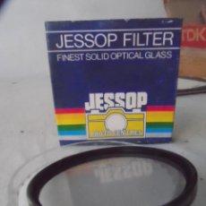 Cámara de fotos: FILTRO CAMARA FOTO JESSOP 62 MM - 1A - NUEVO . Lote 111420979