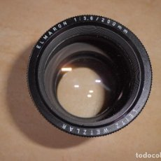 Cámara de fotos: LEITZ WETZLAR ELMARON 1.3,6 200 MM LEICA. Lote 111426331