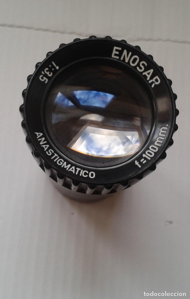 Cámara de fotos: OBJETIVO PARA PROYECTOR ENOSA. 100mm. ANASTIGMATICO - Foto 3 - 111707919