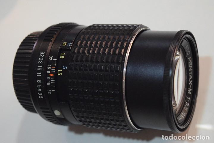 PENTAX SMC 135 3,5. BAYONETA PENTAX K (Cámaras Fotográficas Antiguas - Objetivos y Complementos )