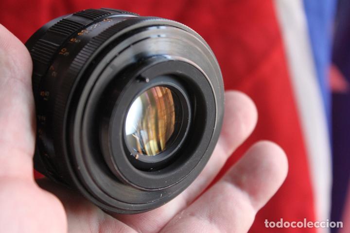 Cámara de fotos: Objetivo Yashica Yashinon DS 50mm 1:1,9 (rosca 42mm) - Foto 3 - 112075983