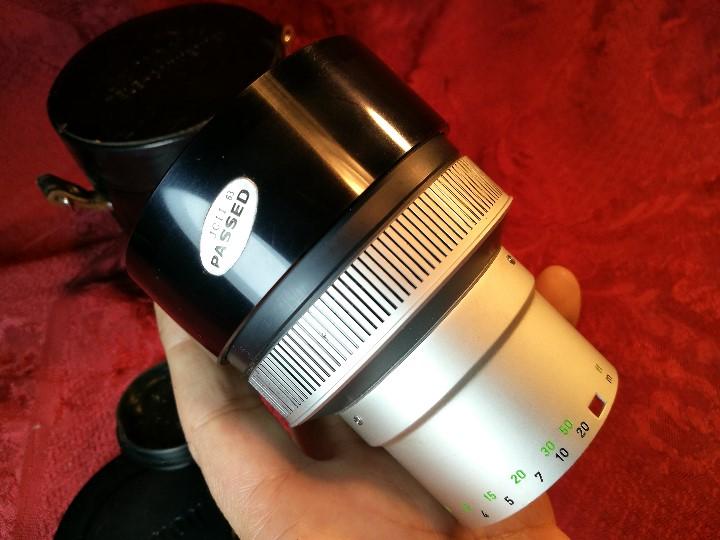 Cámara de fotos: OBJETIVO CANON C-8 TELE-CONVERTER 1,6X N0.41985, CON FUNDA ORIGINAL EN PIEL.impecable !!!! - Foto 10 - 178148450