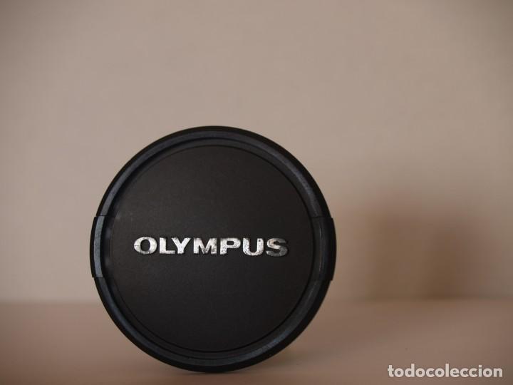 TAPA OBJETIVO OLYMPUS 55 MM ORIGINAL (Cámaras Fotográficas Antiguas - Objetivos y Complementos )