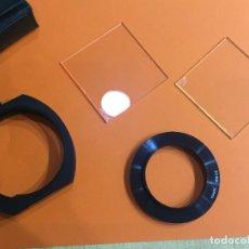 Cámara de fotos: PORTAFILTROS IZUMAR ANILLO ADAPTADOR 52MM FILTRO CLEAR UV Y FILTRO SKY. Lote 113133867