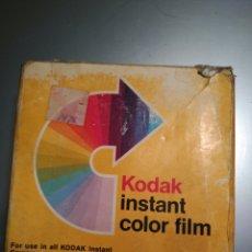Cámara de fotos: CARRETE DE PELÍCULA INSTANTÁNEA KODAK INSTAN COLOR FILM PR 144 10 2 (PACK DE 2 UNIDADES). Lote 113288512