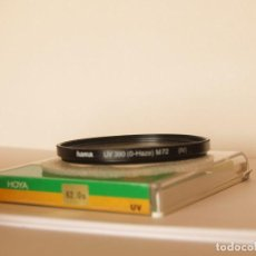 Cámara de fotos: FILTRO HAMA UV 390 ( 0-HAZE ) M72 ( IV ). Lote 113372319
