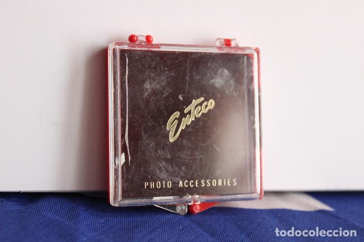 FILTRO NEUTRO ENTECO EN SU CAJA (Cámaras Fotográficas Antiguas - Objetivos y Complementos )