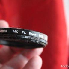 Cámara de fotos: FILTRO POLARIZADOR LINEAL HAMA, 55MM. Lote 113859387
