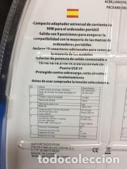 Cámara de fotos: CARGADOR PARA PC - ¡¡¡ PORTATILES !!! ¡¡ NUEVO !! - Foto 3 - 114209095