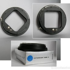 Cámara de fotos: HASSELBLAD EXTENSION TUBE 8 (PIEZA 40649) CON CAJA Y PANFLETO INSTRUCCIONES. Lote 114588515
