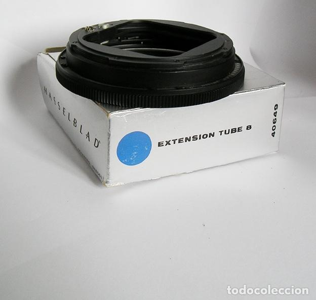 Cámara de fotos: Hasselblad extension tube 8 (pieza 40649) con caja y panfleto instrucciones - Foto 2 - 114588515