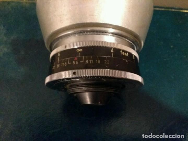 Cámara de fotos: ANTIGUO OBJETIVO - ZEISS IKON - TELESKOP 1.7 X - STUTTGART MADE IN GERMANY - Foto 7 - 114668107