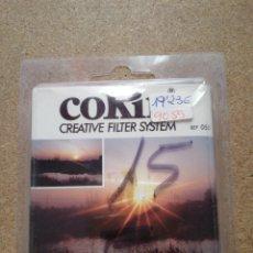 Cámara de fotos: FILTRO COKIN CREATIVE FILTER SYSTEM REF 055. Lote 115219850
