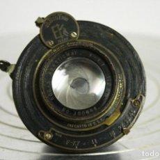 Cámara de fotos: LENTE KODAK BALL BEARING SHUTTER. 1919. F 7.7/45 170MM. GASTOS DE ENVIO GRATIS.. Lote 115267847