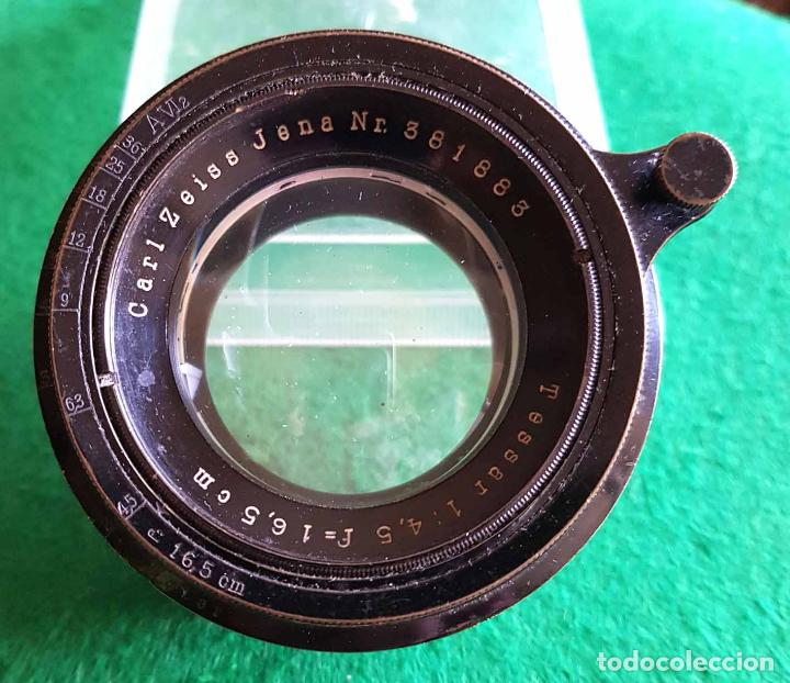 Cámara de fotos: OBJETIVO CARL ZEISS TESSAR 4.5/16,5 CM - Foto 3 - 115651887