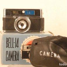 Cámara de fotos: CAMARA MINI BELL-14 AÑO 1973 CAJA Y ESTUCHE. Lote 116170819