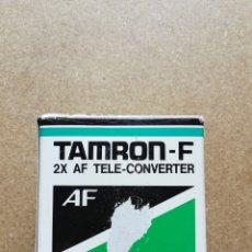 Cámara de fotos: OBJETIVO TAMRON F 2X AF TELE CONVERTER 4MC. Lote 116624820