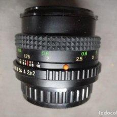 Cámara de fotos: OBJETIVO COSINON-S 50MM 1:2 COSINA. Lote 117224439