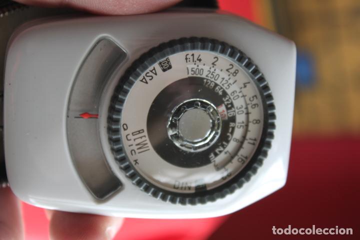Cámara de fotos: Fotómetro Bewi Quick (Made in Germany) + estuche de cuero - Foto 2 - 117228591