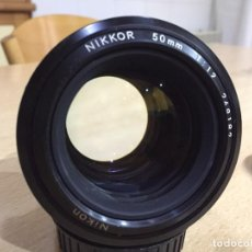 Cámara de fotos: NIKON NIKKOR 50MM F1.2. Lote 118278771