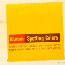 Cámara de fotos: 2 KODAK SPOTTING COLORS. Lote 118354071