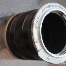 Cámara de fotos: TUBOS DIVISIBLES DE EXTENSIÓN , MACRO, KONICA AR ORIGINALES.. Lote 120031379