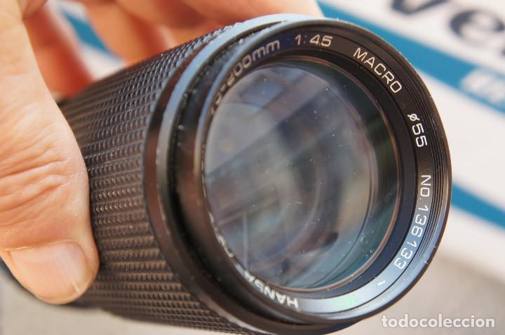 80 200M F/4,5 CONSTANTE HANSA (Cámaras Fotográficas Antiguas - Objetivos y Complementos )