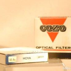 Cámara de fotos: 2 FILTROS 1 DIFUSOR 52 MM-1 POLARIZADOR 52 MM. Lote 121601763