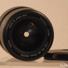 Cámara de fotos: OBJETIVO RICOH ZOOM 35X70 1.3.5-4.5 SISTEMA PENTAX. Lote 121607527