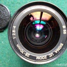 Cámara de fotos: ZOOM SIGMA 28-70. Lote 121721863