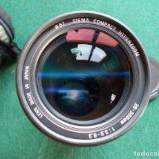 Cámara de fotos: ZOOM SIGMA 28-300 1:3,5-6,3. Lote 121722751