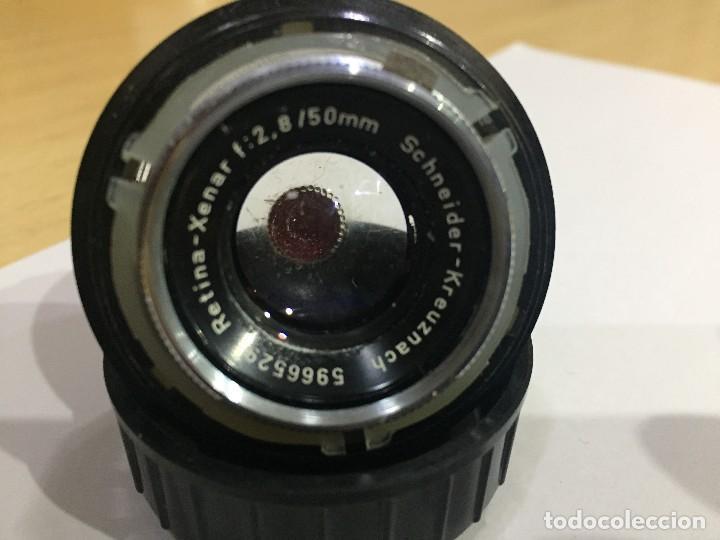 Cámara de fotos: KODAK RETINA XENAR 2.8 50MM - Foto 3 - 122071335