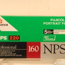Appareil photos: CAJA E CARRETES N P S.220-160 PRECINTADOS. Lote 122379343