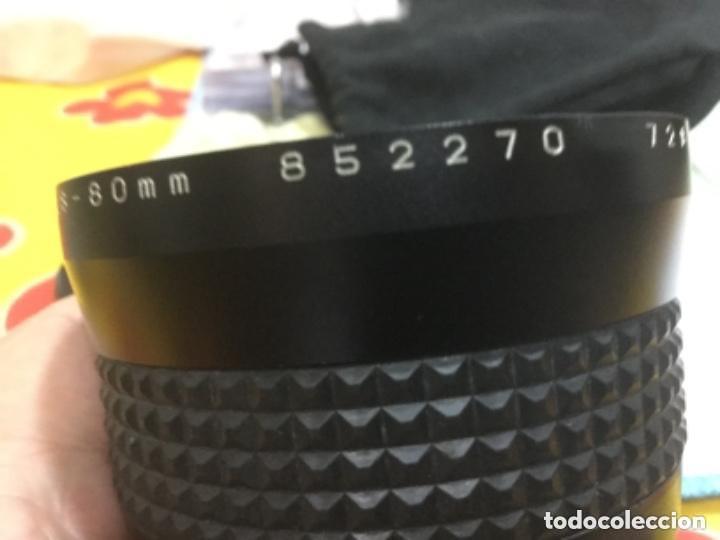 Cámara de fotos: OBJETIVO MAKINON MC ZOOM 1:3,5 - 4,5 F = 28 - 80 mm Nº 852270 - Foto 11 - 149190144