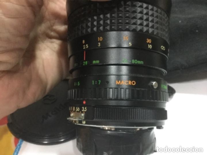 Cámara de fotos: OBJETIVO MAKINON MC ZOOM 1:3,5 - 4,5 F = 28 - 80 mm Nº 852270 - Foto 14 - 149190144
