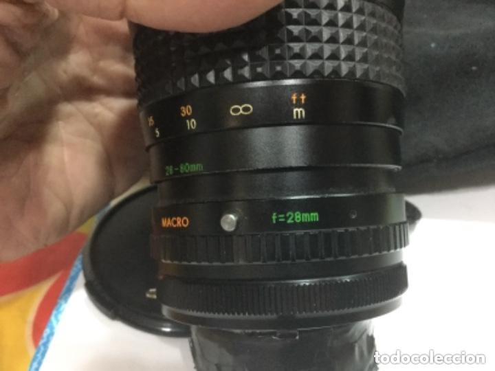 Cámara de fotos: OBJETIVO MAKINON MC ZOOM 1:3,5 - 4,5 F = 28 - 80 mm Nº 852270 - Foto 15 - 149190144